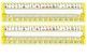 Bright Yellow Polka Dot Desk Reference Nameplates