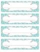 Bright Zebra Print Nameplates