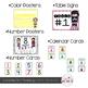 Bright and Bold Chevron Theme Classroom Decor {Editable}