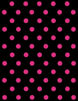 Bright and Bold Digital Backgrounds {Simple Dots}