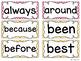 Bright and Bold Polka Dot Word Wall Packet {Editable}