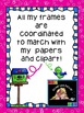 Clipart: Brightly Striped Frames/Borders {Sweet Line Design Clipart}