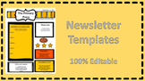 Bright and Cheery Newsletter Template