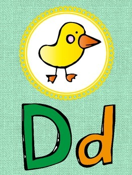 Bright and Colorful Alphabet and Numbers for Classroom Decor