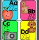 Bright and Colorful Alphabet line: Print and Cursive
