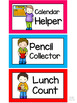 Bright and Colorful Classroom Jobs Display
