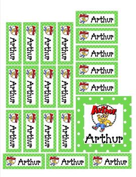 Bright and Colorful Classroom Library Book and Book Bin Labels