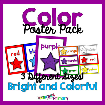 Bright and Colorful Color Posters