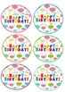 Bright and Colourful Birthday Balloons