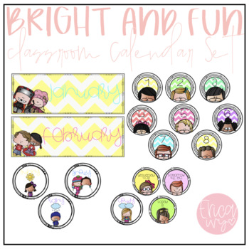 Bright and Fun Calendar Set