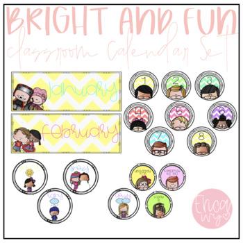 Bright and Fun Calendar Set