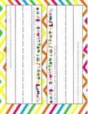 Bright and Fun Name Tags