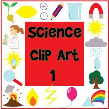 Bright and Fun Science Clip Art