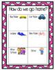 Bright and Happy Polka-dot Transportation Clip Chart