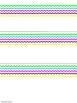 Bright and Neon Chevron Name Plates