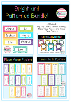 Bright and Patterned Bundle