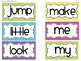 Bright and Sassy Word Wall Cards (Editable)