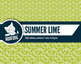 Summer lime digital papers summer fruit patterns