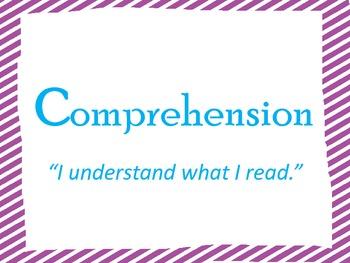 Bright Color Comprehension Posters