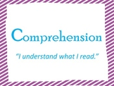 Bright Color Comprehension Posters