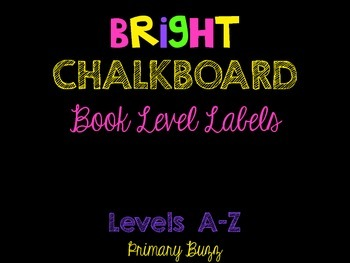 Bright on Black - Book Levels A-Z