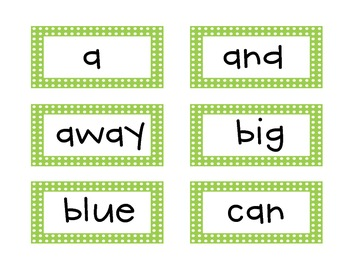 Brighten Up Your Word Wall!