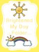 Brightened my day cards
