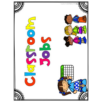 Brightly Color Job Chart Labels