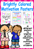 Brightly Colored Motivation Posters