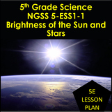 5th Grade Science NGSS 5-ESS1-1: Brightness of the Sun and Stars