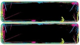 Brights Chalkboard Theme Name Plates