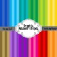 Brights Chevron and Stripes 24 12x12 Digital Scrapbook Background Papers