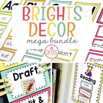 Brights Classroom Set {MEGA-BUNDLE}