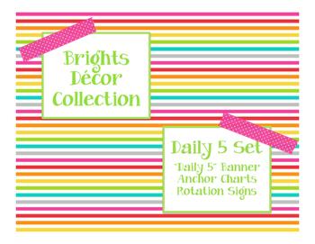 Brights Decor: Daily 5 Set