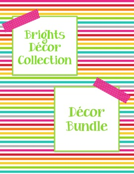 Brights Decor: Decor Bundle