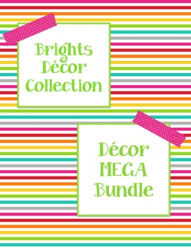 Brights Decor: Decor MEGA Bundle