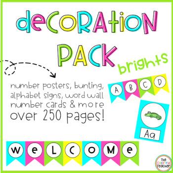 Brights Decor Pack