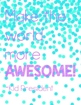 Brights Kid President Posters