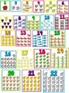 Brights Number Counting Chart Poster