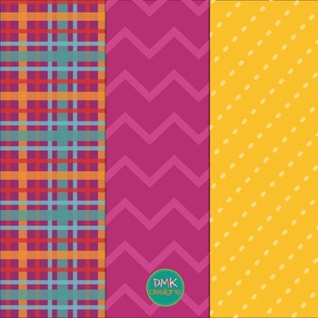 Brights Paper and Frame Freebie Set