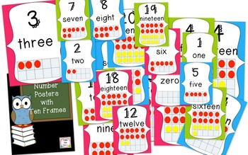 Brights & Polka Dots Classroom Decor Pack (BUNDLED)