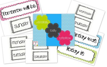Brights & Polka Dots Classroom Decor Pack (BUNDLED)