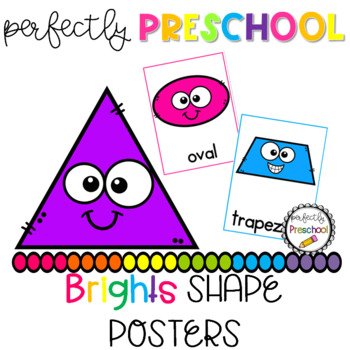 Brights Shape Posters