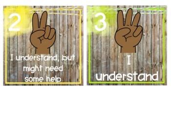 Brights & Shiplap Hand Signals - EDITABLE!