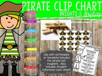 Brights & Shiplap Pirate Clip Chart