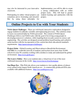 Brilliance Pages - Online Collaboration; Technology for Elementary Students