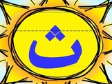 Brilliant Arabic Alphabet Wall Cards