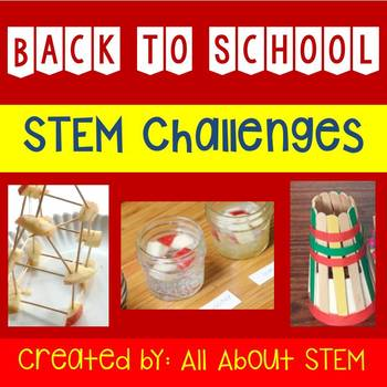 NGSS Aligned: Brilliant Back to School STEM Challenges