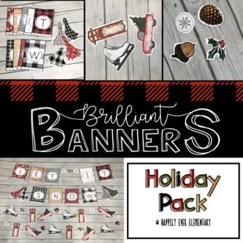Brilliant Banner | Vintage Holiday Decor Pack