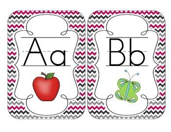 Brilliant Berry Alphabet Cards